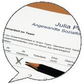 Fragebogenkonzeption Julia Post